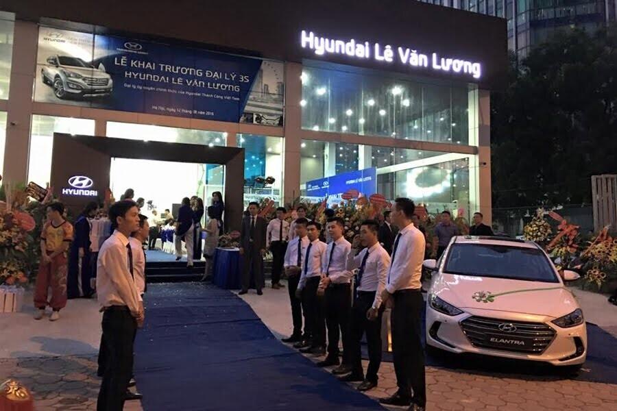 Đại Lý Hyundai Lê Văn Lương Quận Cầu Giấy Hà Nội - Hình 4