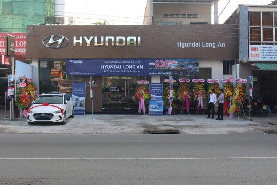 Tổng quan Showroom Hyndai Long An