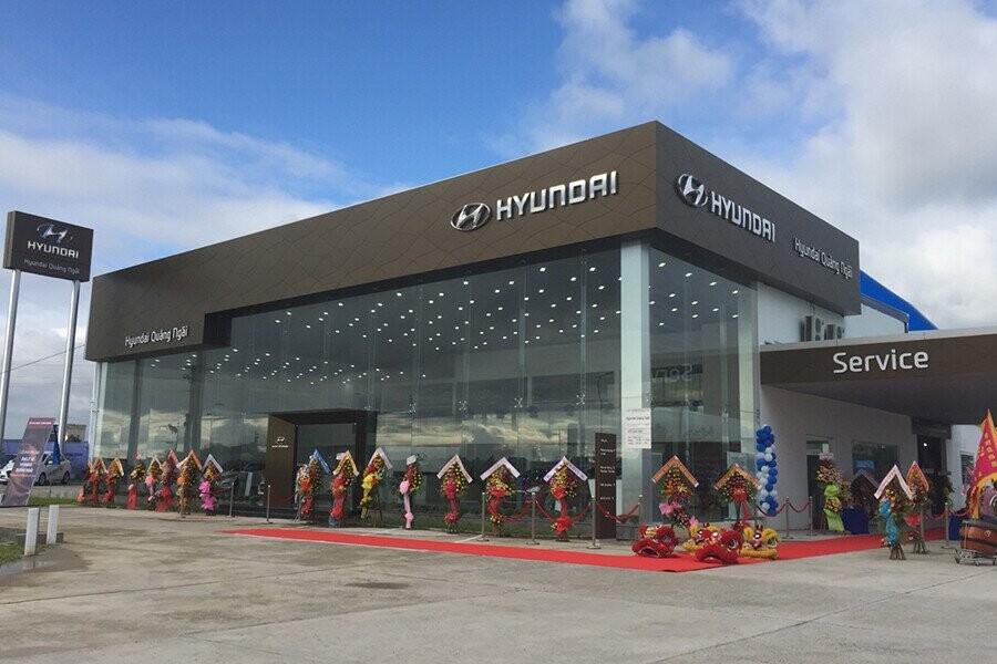 Tổng quan Showroom Hyundai Quảng Ngãi