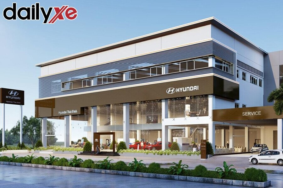 Showroom Hyundai  Thái Bình