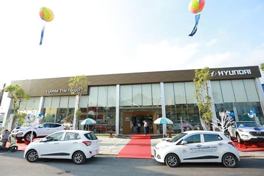 Đại Lý Hyundai Thái Nguyên Phường Hoàng Văn Thụ TP Thái Nguyên - Hình 1
