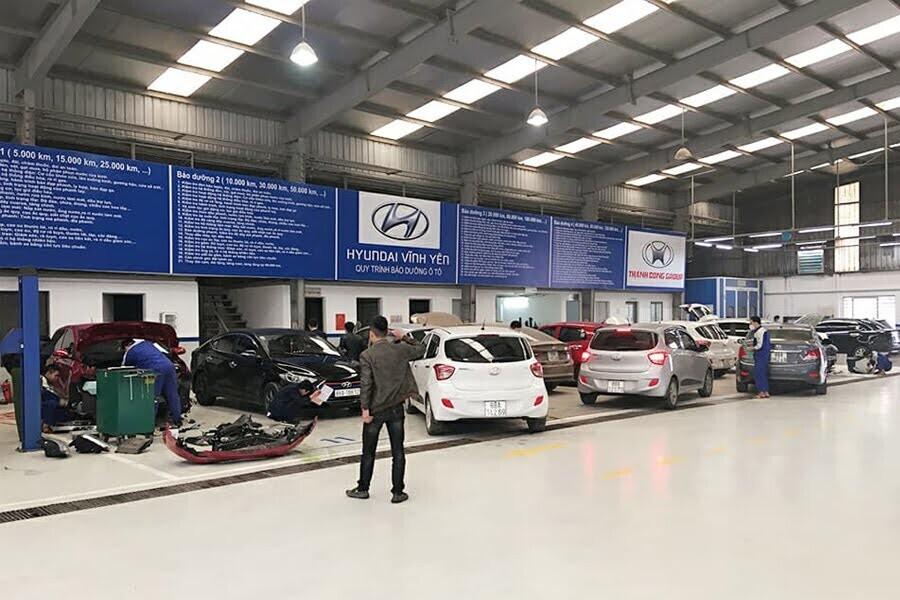 Đại Lý Hyundai Phường Khai Quang Vĩnh Phúc - Hình 3