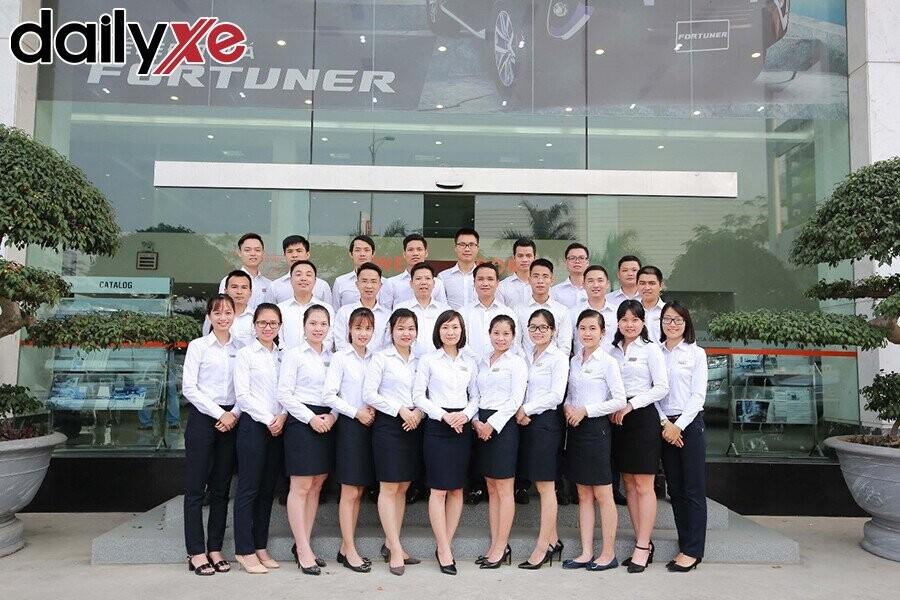 Đội ngũ nhân viên trẻ trung, năng động