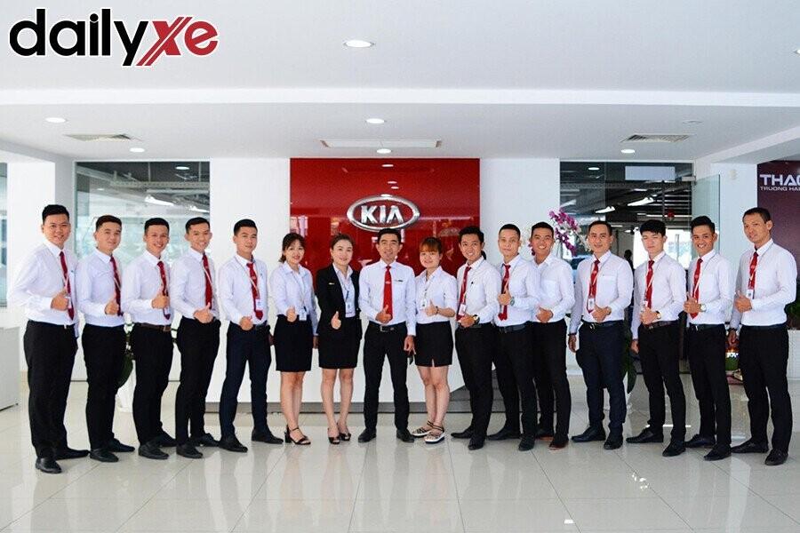 Đội ngũ nhân viên Kia Nha Trang