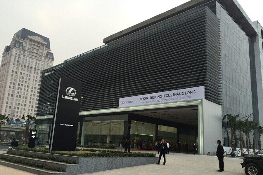 Mặt tiền Showroom Lexus Thăng Long