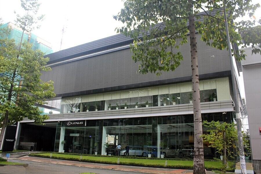 Mặt tiền Showroom Lexus Trung Tâm Sài Gòn