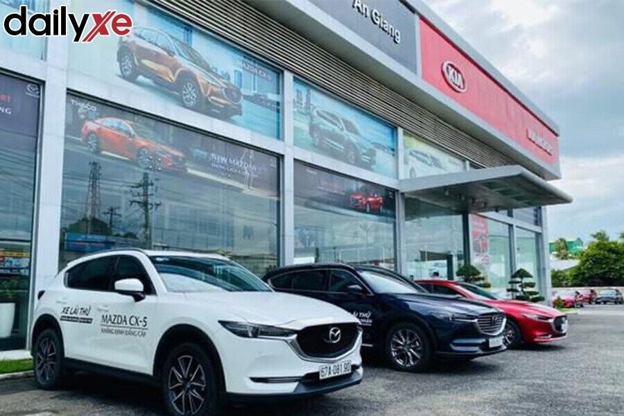 Các Dòng Xe Trưng Bày Tại Showroom Mazda An Giang