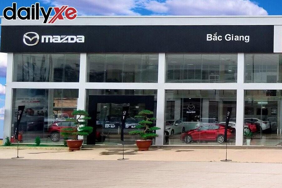 Mặt tiền Showroom Mazda Bắc Giang