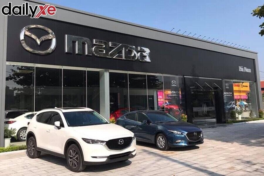 Mặt tiền Showroom Mazda Hà Nam