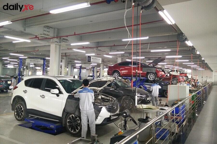 Khu vực sửa chữa tại Mazda Phạm Văn Đồng - Hình 4