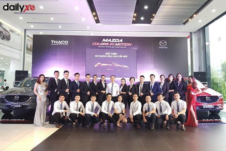 Đoàn thể nhân viên của Mazda Phạm Văn Đồng - Hình 2