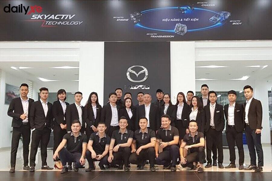 Đoàn thể nhân viên của Mazda Phạm Văn Đồng - Hình 3