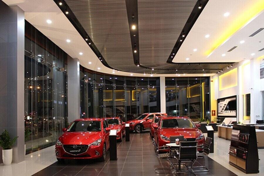 Khu trưng bày Showroom có diện tích hơn 800 m2