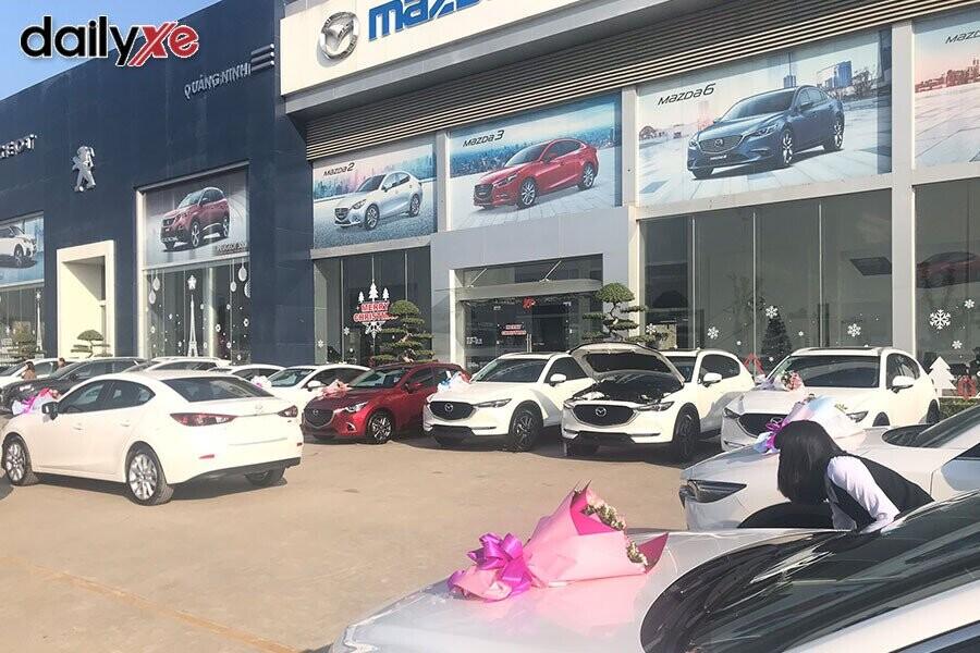 Mặt tiền Showroom Mazda Quảng Ninh - Hình 3