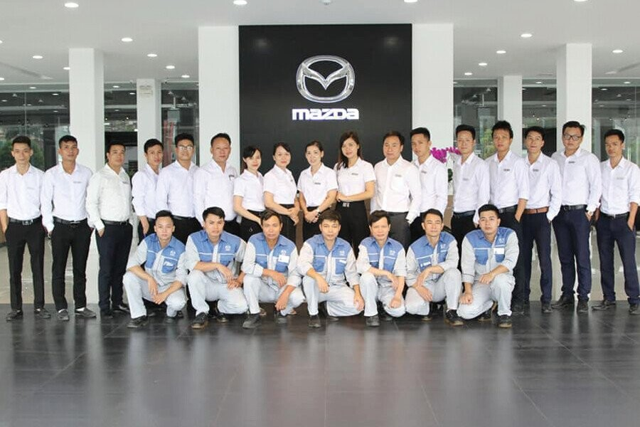 Đội ngũ nhân viên trẻ nhiệt tình