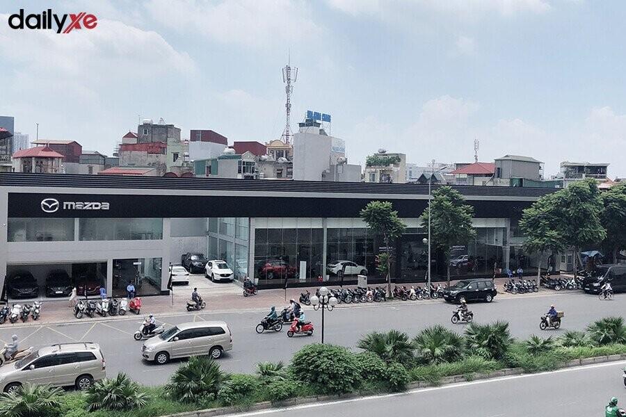 Showroom Mazda Trần Khát Chân