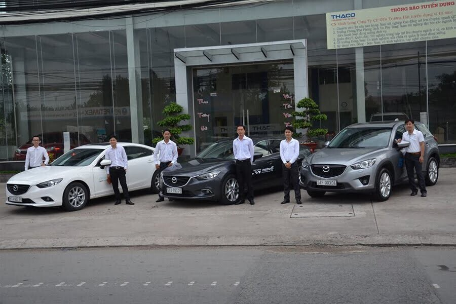Showroom Mazda Vĩnh Long