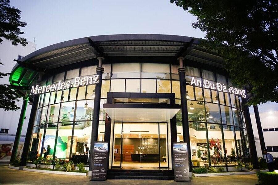 Mặt tiền Showroom Mercedes-Benz An Du Đà Nẵng