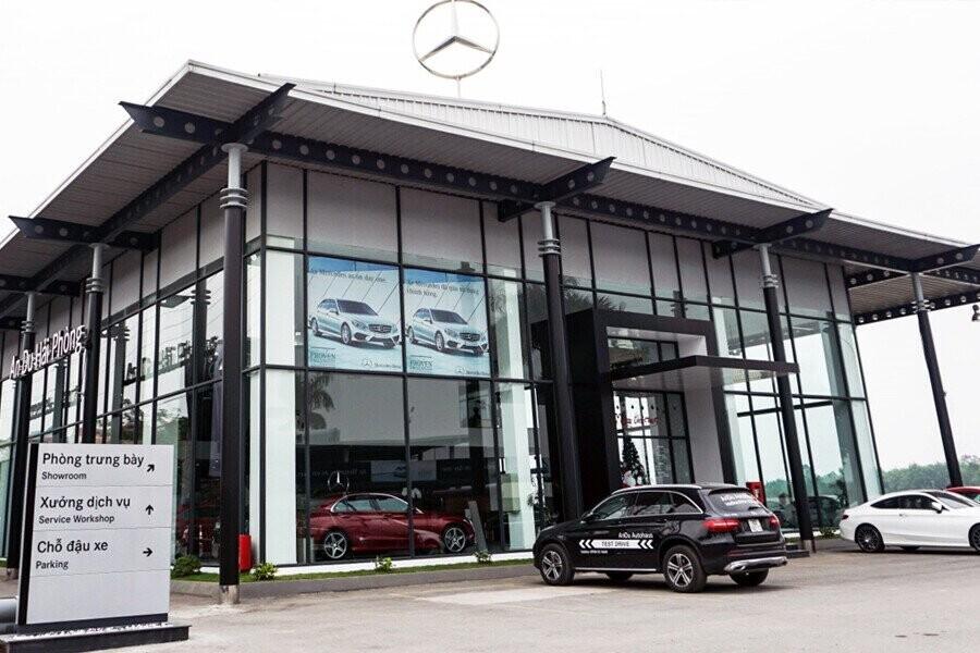 Mặt tiền Showroom Mercedes-Benz An Du Hải Phòng