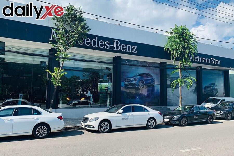 Mặt tiền Showroom Mercedes-benz Nha Trang
