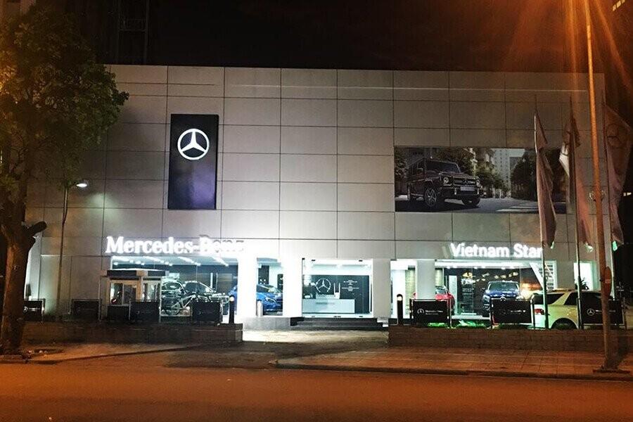 Mặt Tiền Mercedes-Benz Vietnam Star Ngô Quyền Hà Nội