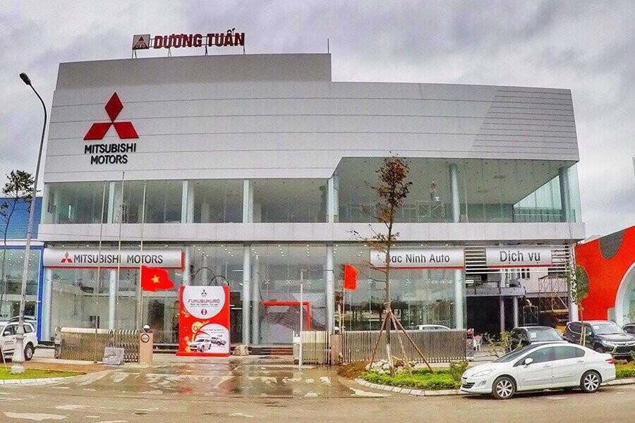 Mặt tiền Showroom Mitsubishi Bắc Ninh