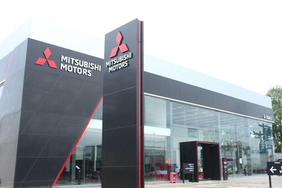 Mặt tiền Showroom Mitsubishi Cần Thơ