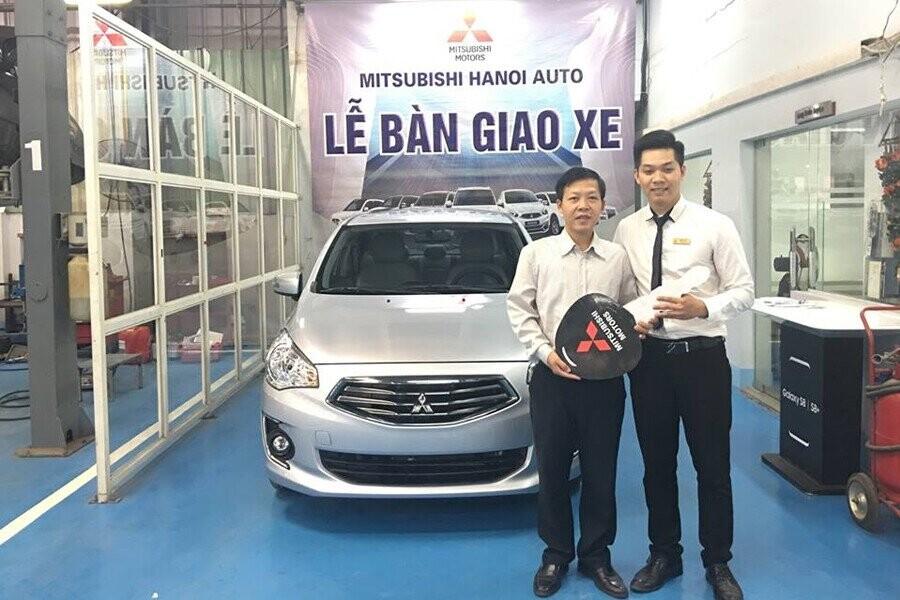 Lễ bàn giao xe Mitsubishi cho Khách hàng