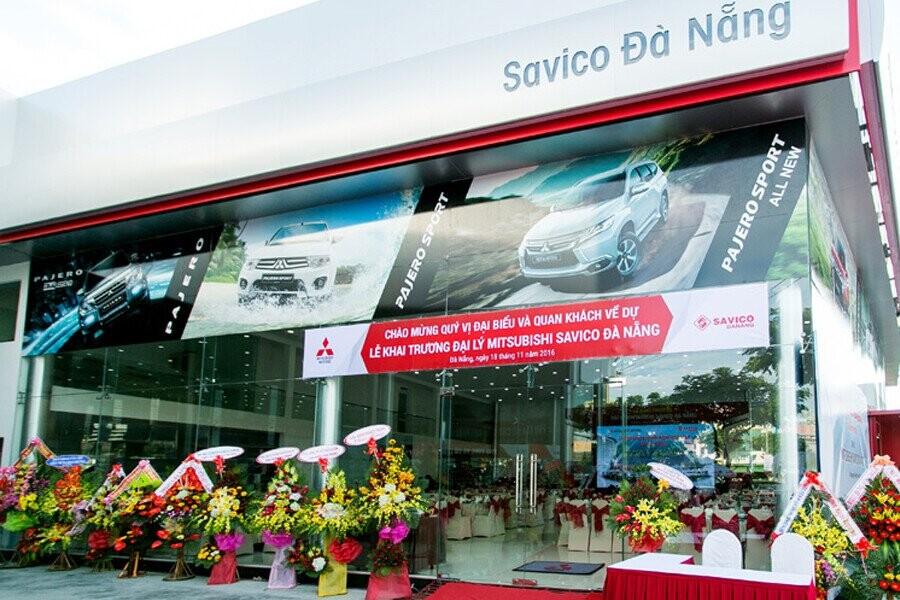 Mặt tiền Showroom Mitsubishi SAVICO Đà Nẵng