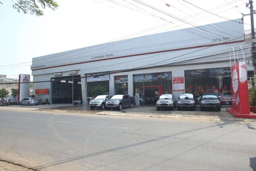 Mặt tiền Showroom Mitsubishi Gia Lai
