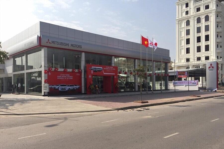 Mặt tiền Showroom Mitsubishi Hải Dương
