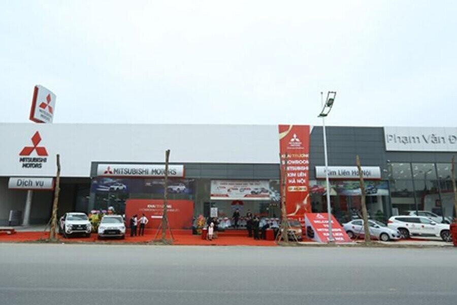 Mặt tiền Showroom Mitsubishi Kim Liên