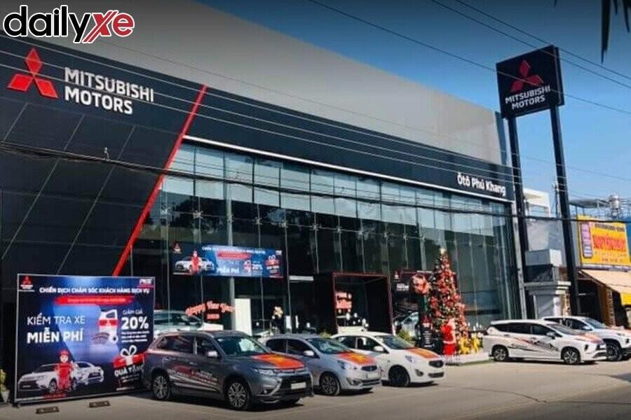 Showroom Mitsubishi Ôtô Phú Khang - An Giang