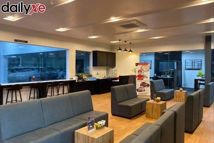 Phòng chờ khách hàng hiện đại, sang trọng