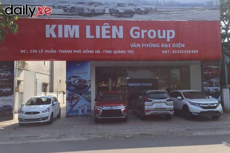 Mặt tiền Showroom Mitsubishi Quảng Trị