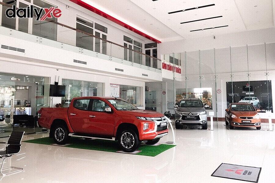 Các dòng xe trưng bày  tại Showroom