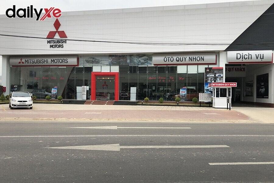 Mặt tiền Showroom Mitsubishi Quy Nhơn