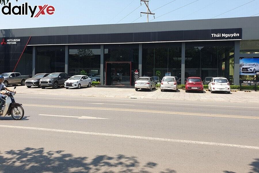 Mặt tiền Showroom Mitsubishi Thái Nguyên