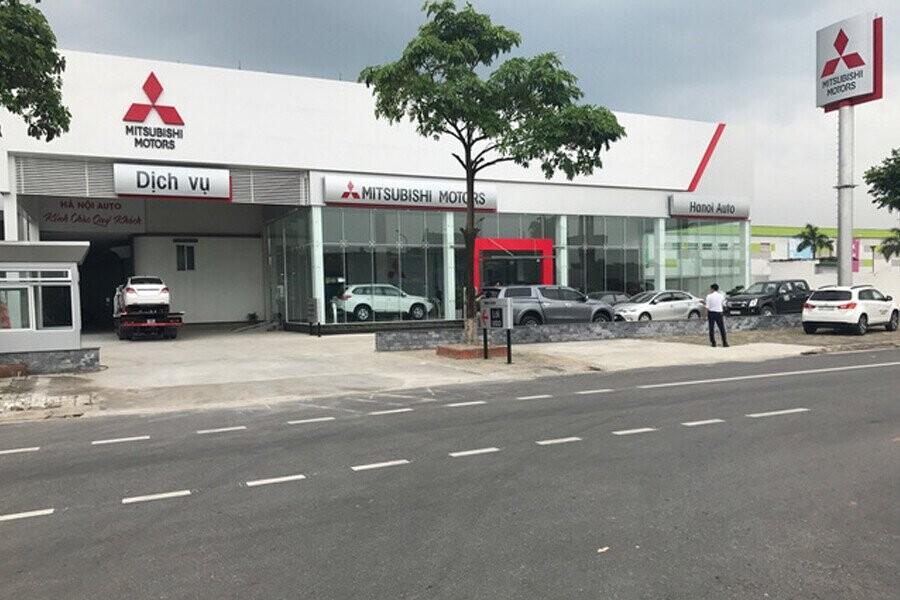 Mặt tiền Showroom Mitsubishi Việt Trì