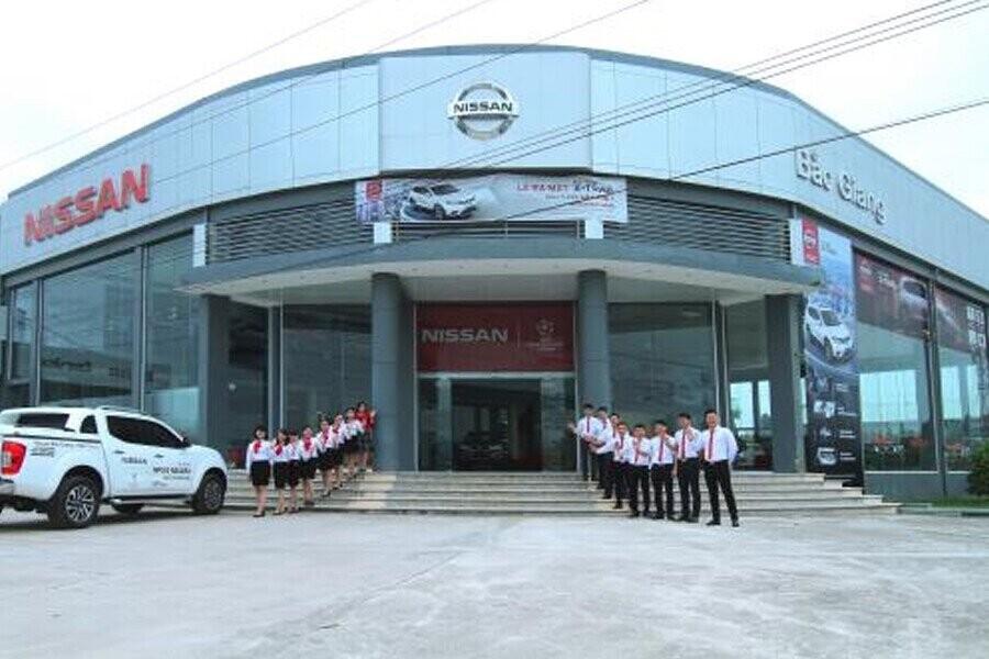 Mặt tiền Showroom Nissan Bắc Giang