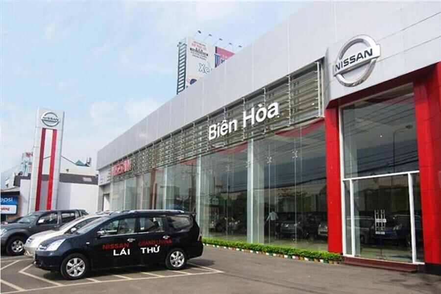 Mặt tiền Showroom Nissan Biên Hòa