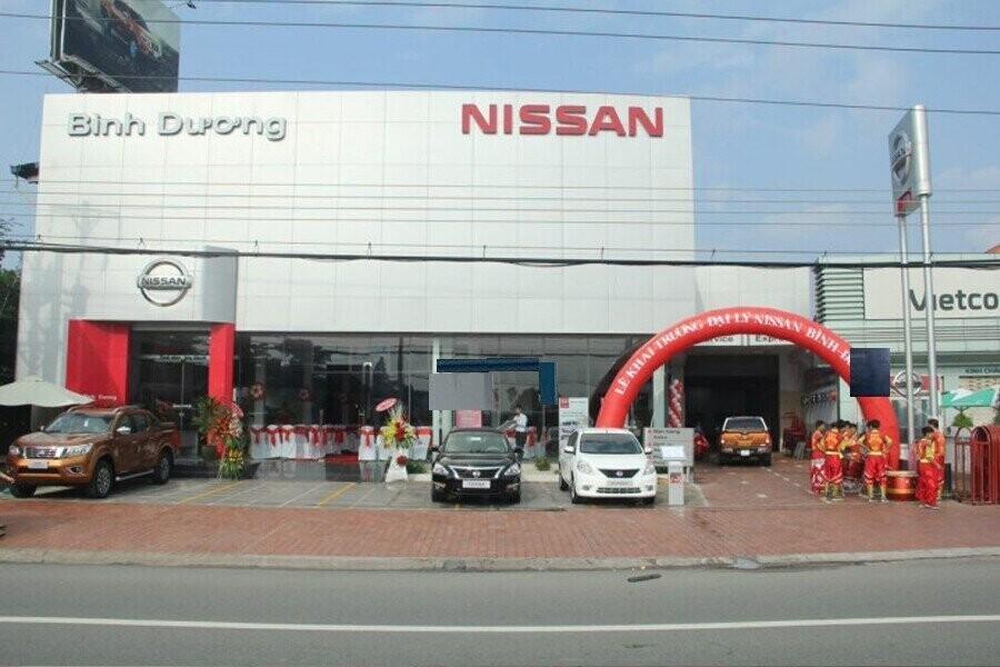 Mặt tiền Showroom Nissan Bình Dương
