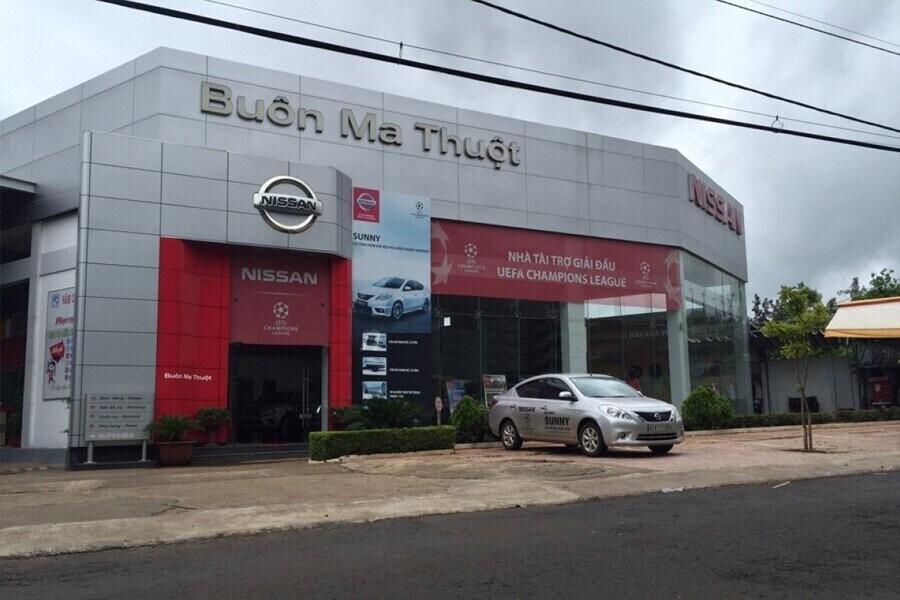 Mặt tiền Showroom Nissan Buôn Ma Thuột