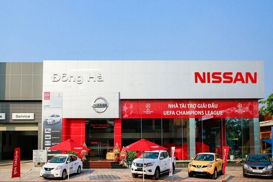 Mặt tiền Showroom Nissan Đông Hà