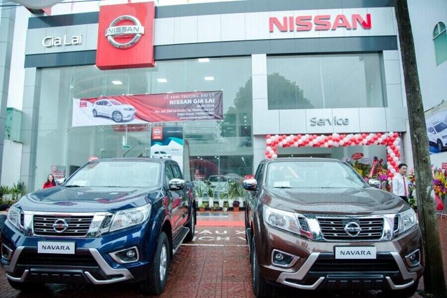 Mặt tiền Showroom Nissan Gia Lai