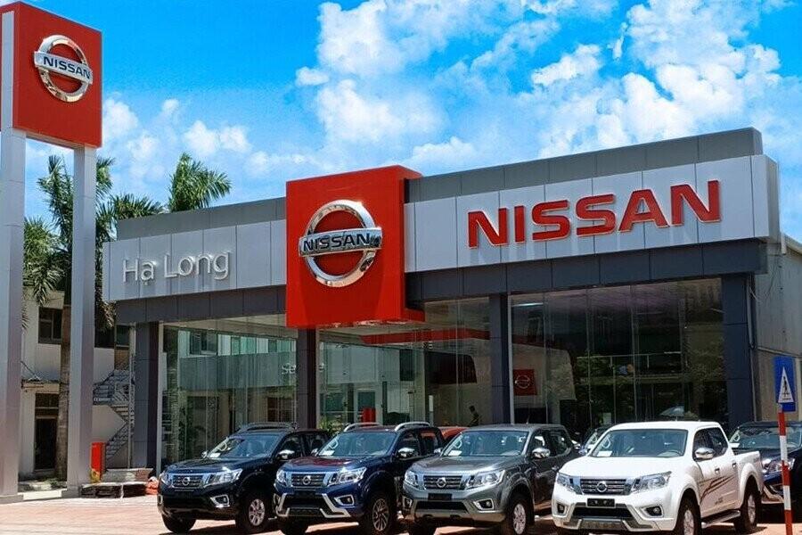 Mặt tiền Showroom Nissan Hạ Long