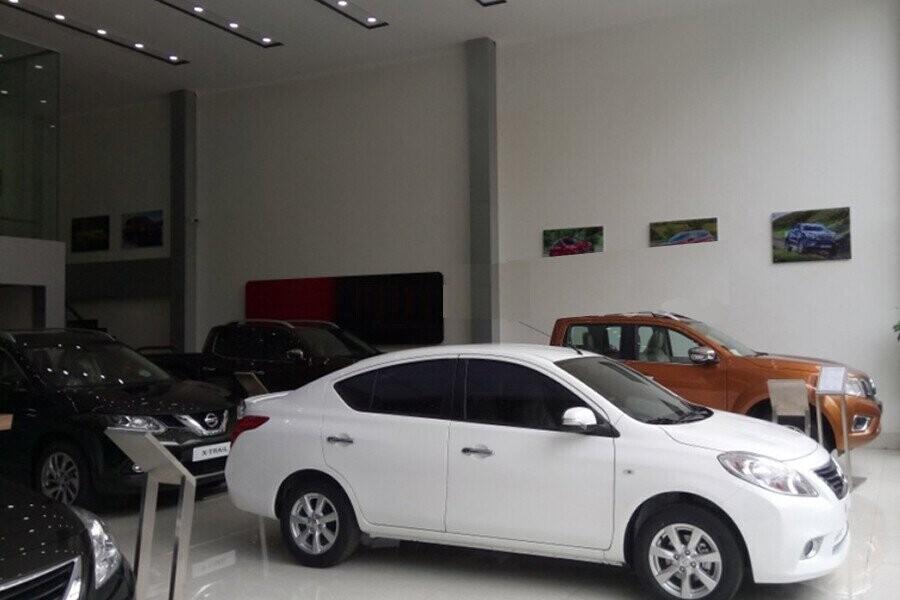 Khu vực trưng bày xe Nissan