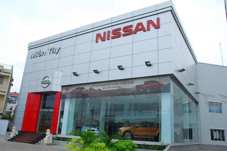 Mặt tiền Showroom Nissan Miền Tây