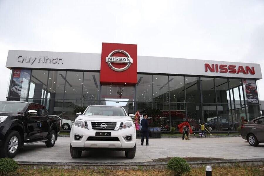 Mặt tiền Showroom Nissan Quy Nhơn