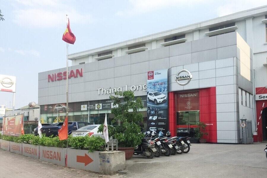 Mặt tiền Showroom Nissan Thăng Long